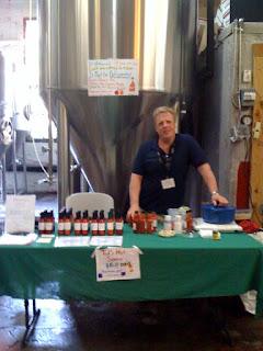SR Fresh Hot Sauce at Ramstein Open House