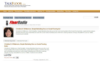 Social Flooring Index on TalkFloor.com