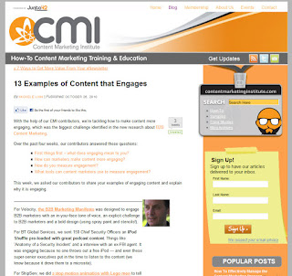 Engaging Content Marketing Examples: Bathroom Blogfest 2010