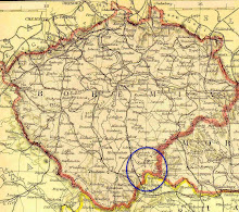 Map of Bohemia