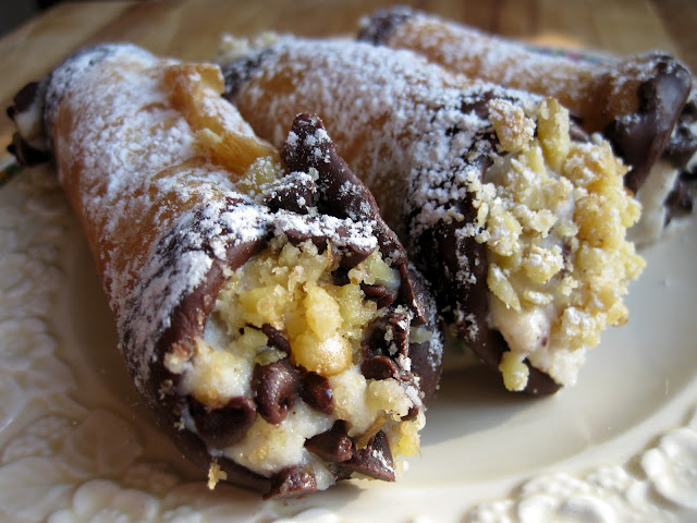 image of family cannoli shell recipe and cannoli filling recipe