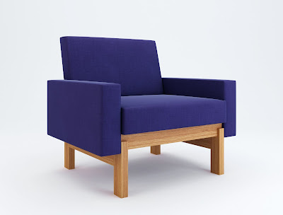 Easy Chair on Swedese  Accent Easy Chair
