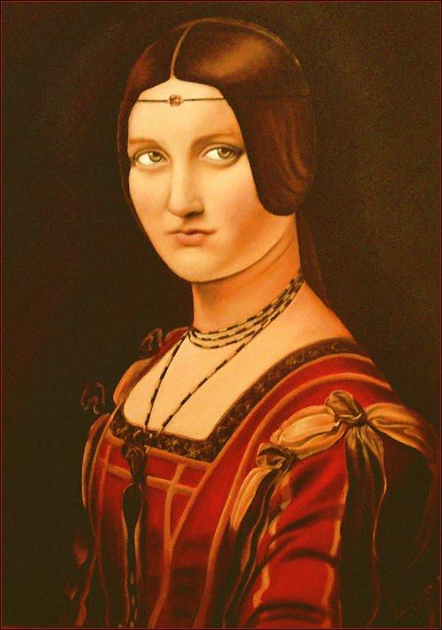 Portrait de leonard de vinci lucrezia crivelli de leonard de vinci 1642 - Photo leonard de vinci ...