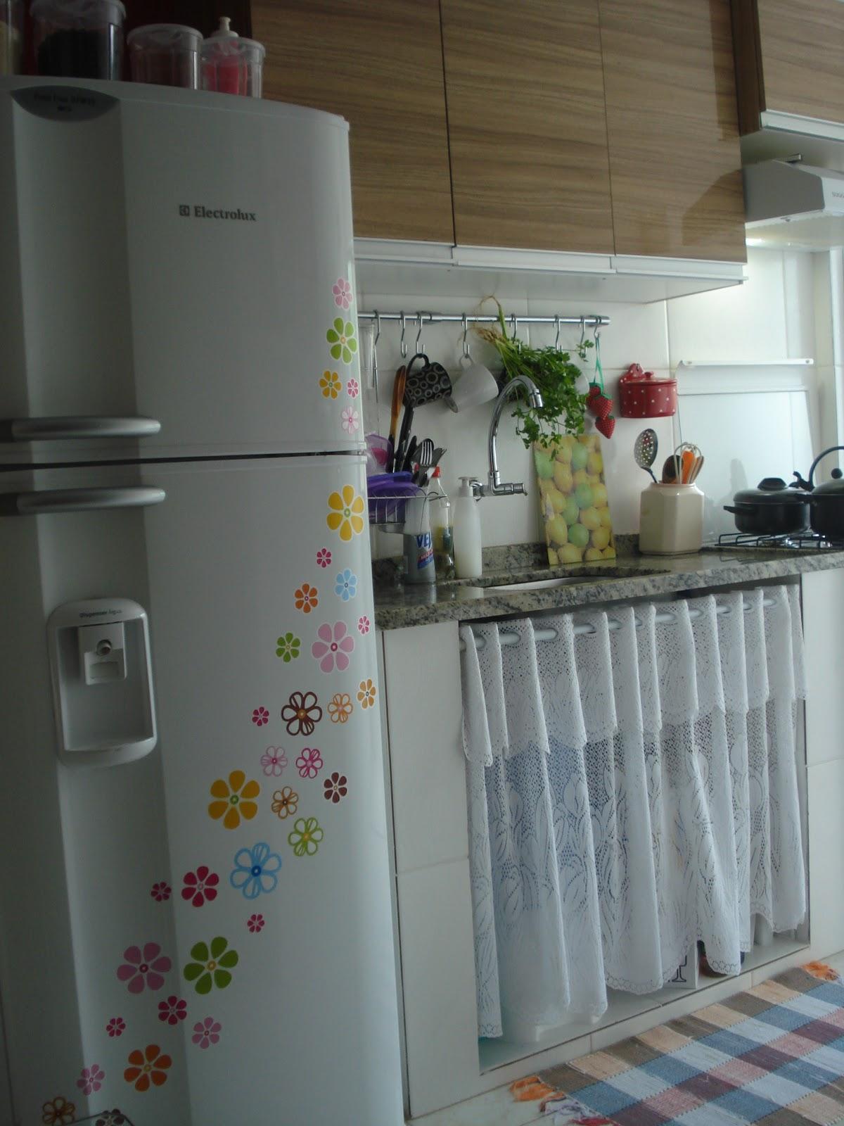 Pequena e engraçadinha É a minha cozinha!  Casa Corpo e Cia # Cozinha Simples De Pobre