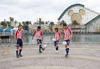 Chivas USA, team photo, Disney