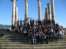 Thr Roman Ruins With The Campers