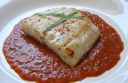 Dieta con thermomix bacalao con tomate en varoma - Cocinar bacalao desalado ...