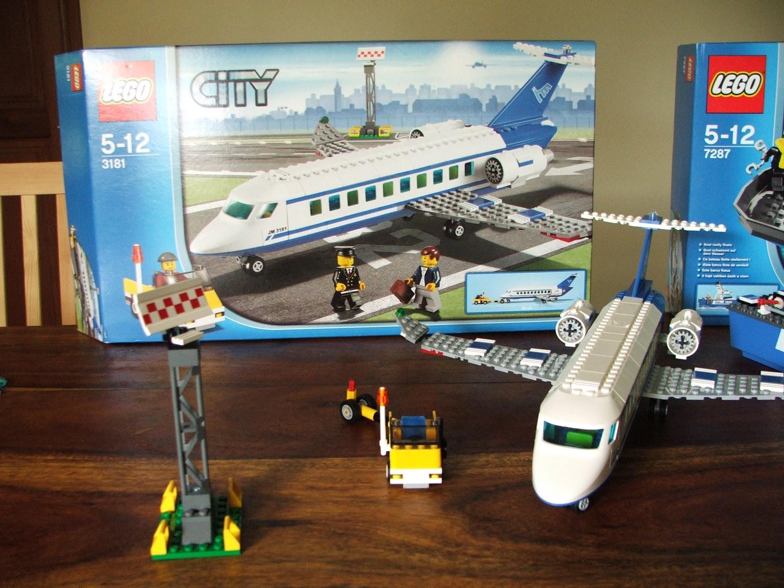 Milos Lego Amp Drawing Gallery Lego City Passenger Plane