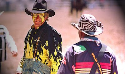 Rodeo Clown Faces http://alexlovellsblog.blogspot.com/2009_10_01_archive.html