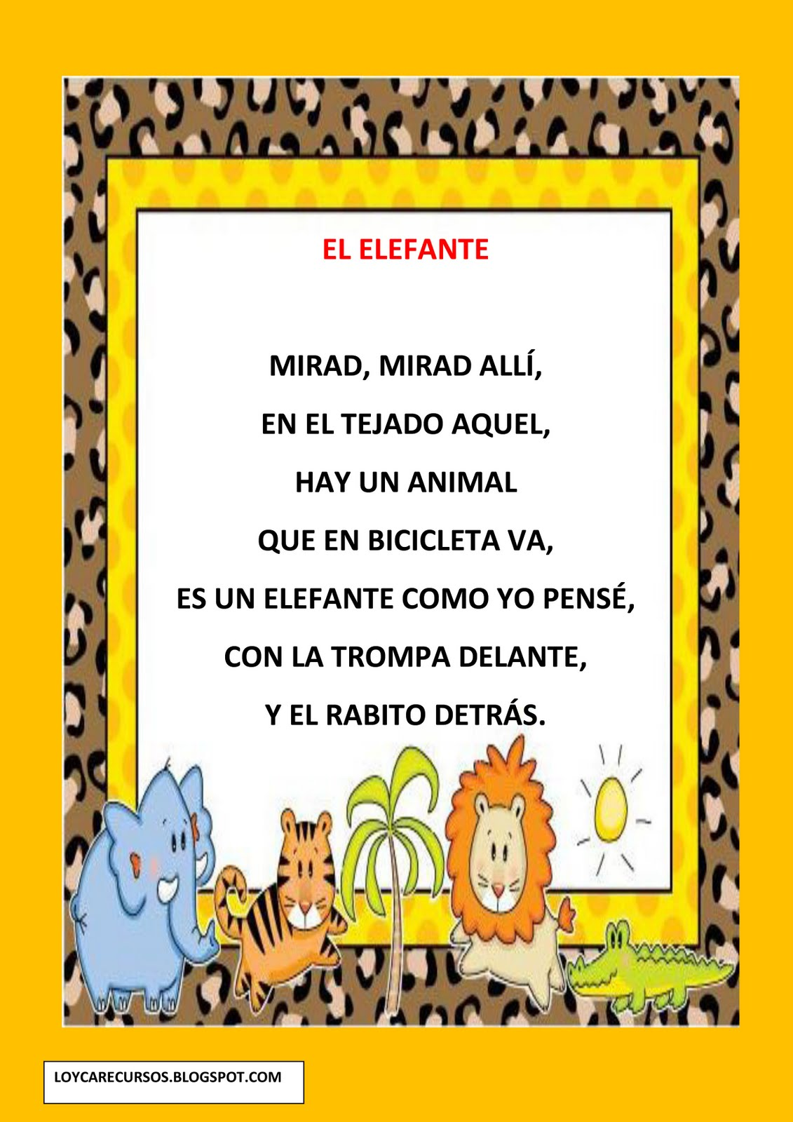Anlisis del poema - Portal Educativo