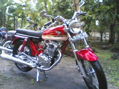 Modification: 200 Gambar Modifikasi Honda CB 100, 125, 175, 200