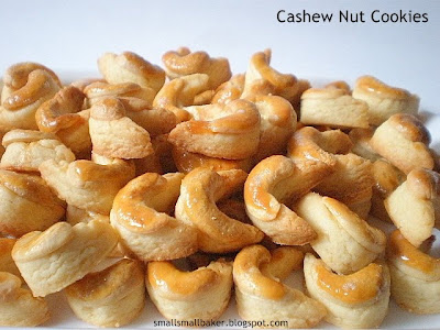 small small baker cashew nut cookies 2010