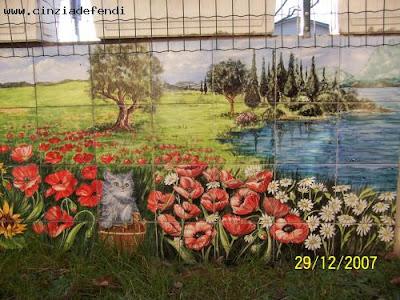 Pannelli murali dipinti a mano e personalizzati.: pannello murale su