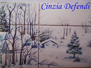 Complementi d arredo dipinti da cinzia defendi piastrelle dipinte