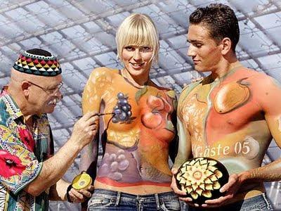 Popular Body Painting