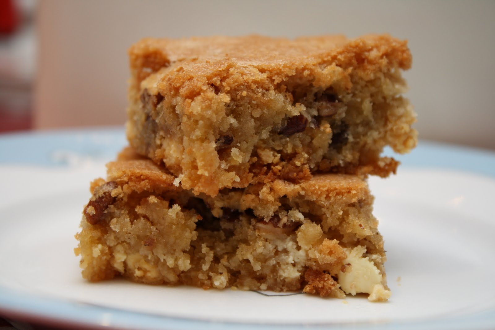 ... Made from Scratch: White Chocolate and Toasted Pecan Blondies