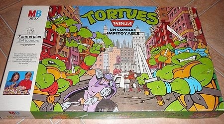 Le trou rat tortues ninja mb 1990 - Rat tortues ninja ...