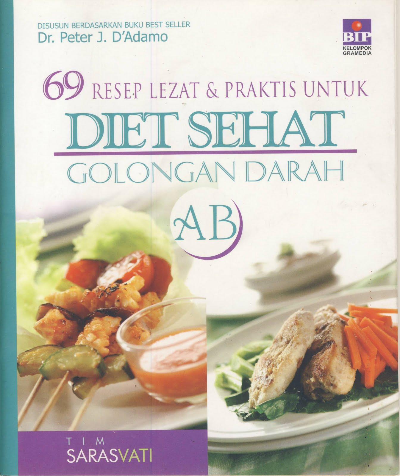 Resep Diet Sehat Golongan Darah AB