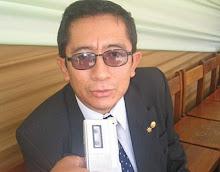 Abogado/Licenciado en Educación Grimaldo Saturdino Chong Vásquez. Doctor en Derecho