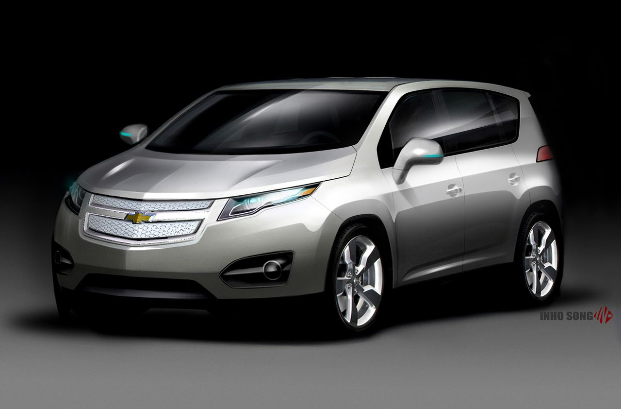 designing cars chevrolet volt mpv5 electric concept. Black Bedroom Furniture Sets. Home Design Ideas