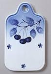 ♥ Modré třešně ♥