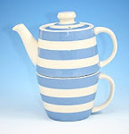 ♥ Modro-bílé nádobíčko ♥