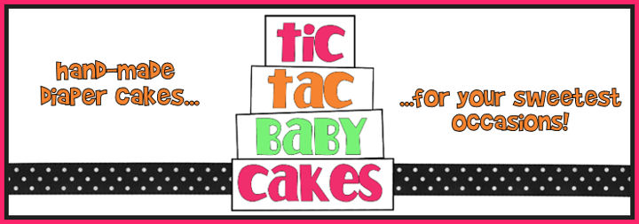 Tic Tac Baby Cakes