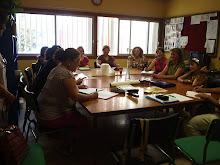 Consejo Escolar reunido