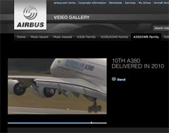 Airbus Video Gallery