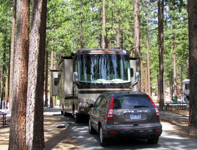 ... Sites - Our Campground Reviews: Zephyr Cove RV Park & Campground