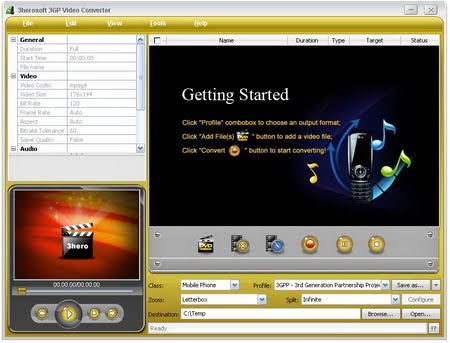3herosoft 3GP Video Converter v3.5.2.0830