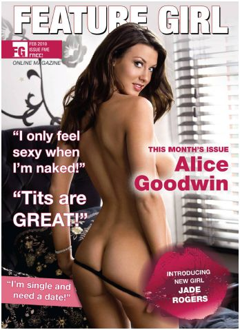 Feature Girl Magazine Sexy Big Boobs Girls - February 2010