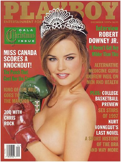 Playboy Magazine Sex Stars of the Year - December 1997