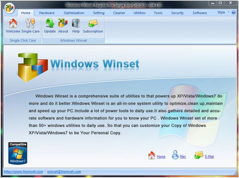 Windows winset 4.1.0.1 software crack