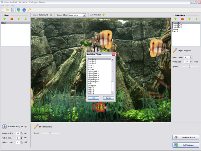desktop animated wallpaper. Animated Wallpaper Maker 2.4.0
