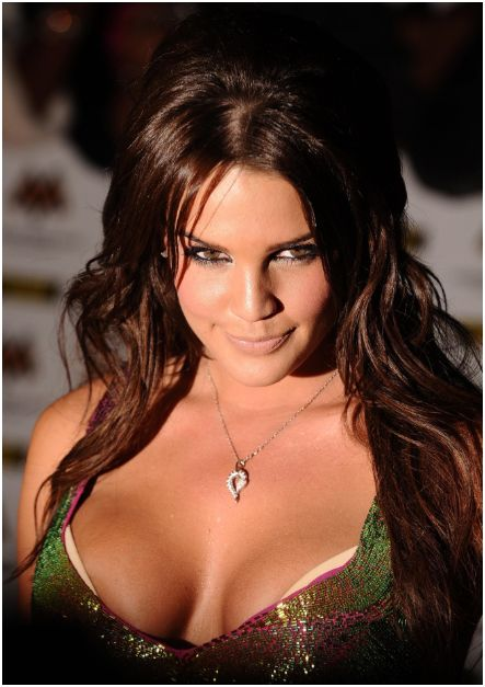 Sexy Girl Danielle Lloyd in MOBO Awards HQ Pictures
