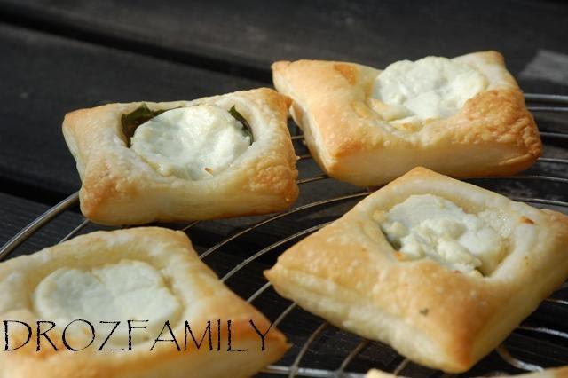 Les recettes de claire feuillet e au fromage de ch vre - Comment couper le basilic ...