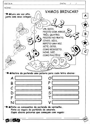 47 Alfabetização para crianças