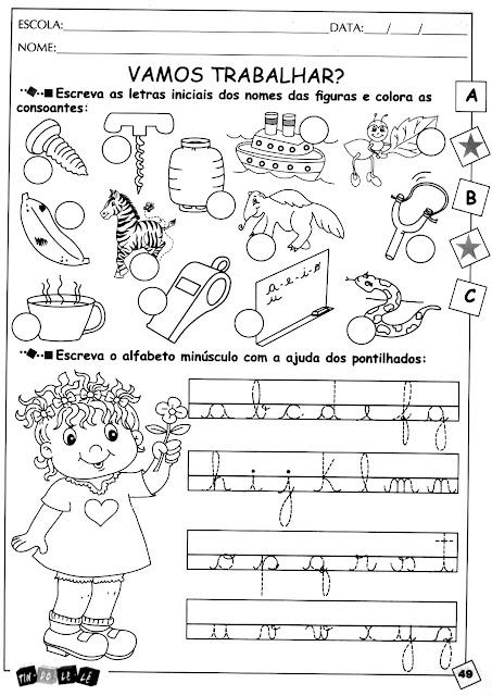 49 Alfabetização para crianças