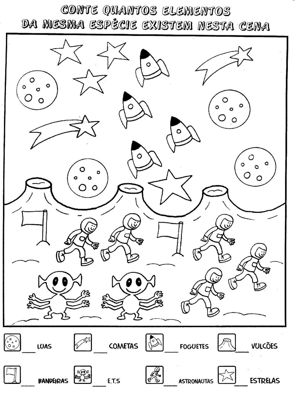 Excepcional Atividades Escolares Lúdicas: Atividades variadas de matemática  MB27