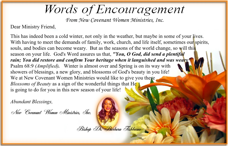 Short Encouragements From God's Word