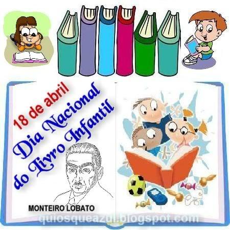 1 Ano 03 18 De Abril Dia Do Livro Infantil