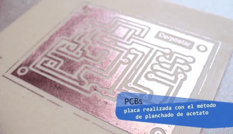 placa circuito impreso