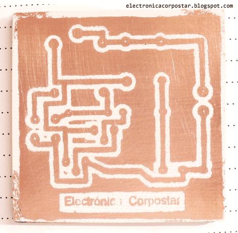 placa circuito impreso terminada