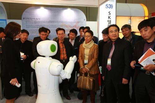 Demostración del robot Tiro
