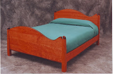 Cherry and Rosewood Bed