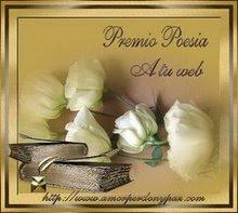 Premio Poesía a tu Web