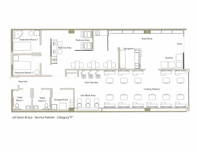 Salon Floor Plans Samples