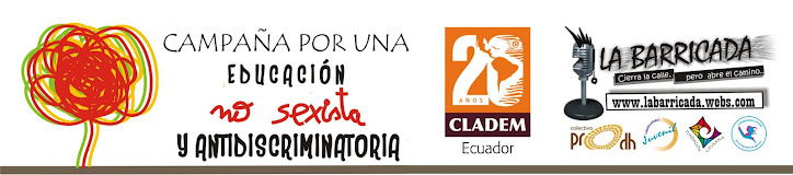 CAMPAA POR UNA EDUCACIN NO SEXISTA Y ANTIDISCRIMINATORIA ECUADOR