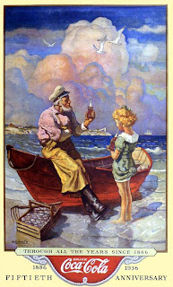 Coca-Cola ad by N. C. Wyeth